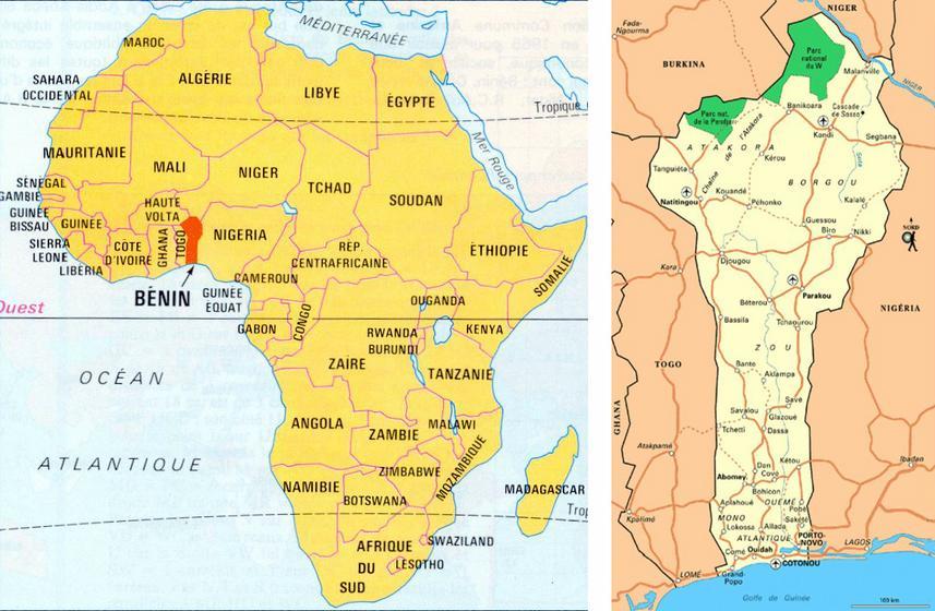 Carte_Benin_afrique